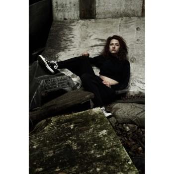 Alison P. Stuart wearing sneakers