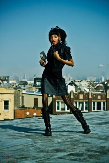 Ms Amanda Tea on rooftops