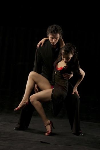 Roxey Mcloo dancing tango